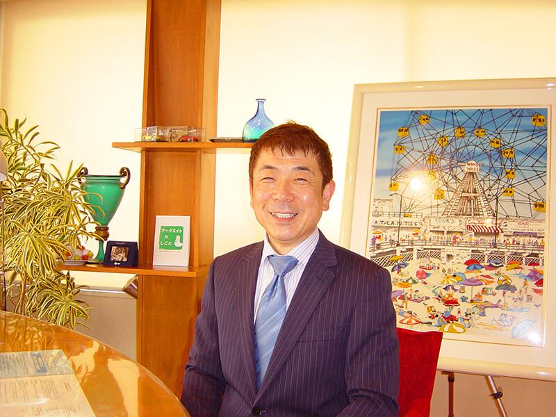川越店代表の村岡です