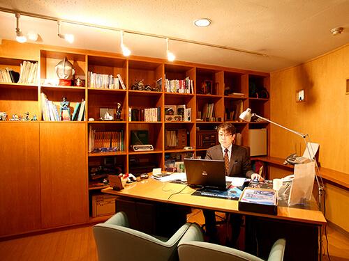 代表執務室